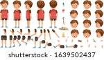 boys character creation set.... | Shutterstock .eps vector #1639502437