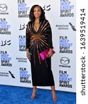 Small photo of SANTA MONICA, CA: 08, 2020: Kimberly Steward at the 2020 Film Independent Spirit Awards. Picture: Paul Smith/Featureflash