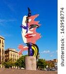 barcelona  spain   september 12 ... | Shutterstock . vector #163958774