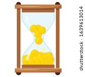 hourglass or sandglass with...   Shutterstock .eps vector #1639613014