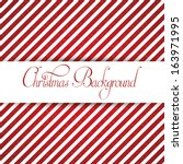 a vector stylish christmas... | Shutterstock .eps vector #163971995
