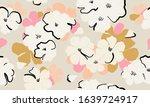 simple flower illustration... | Shutterstock .eps vector #1639724917