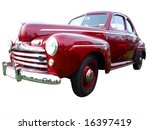 1946 v8 deluxe isolated with... | Shutterstock . vector #16397419