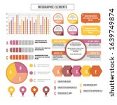 infographic elements data...