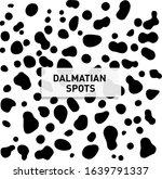 dalmatian spots. seamless... | Shutterstock .eps vector #1639791337