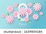 8 march. happy women's day.... | Shutterstock .eps vector #1639854184