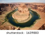 horseshoe bend of the colorado... | Shutterstock . vector #1639883