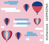 vector invitation with air... | Shutterstock .eps vector #1639932964