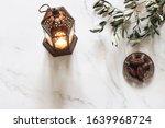 ramadan kareem greeting card ... | Shutterstock . vector #1639968724