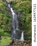 Small photo of Hollow Brook Waterfall below Martinhoe on North Devon Coast Path