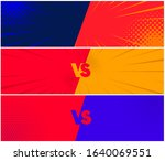 set of banners fighting each... | Shutterstock .eps vector #1640069551