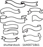 collection of hand drawn vector ...   Shutterstock .eps vector #1640071861