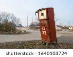 Abandoned Ussr Style Petrol...