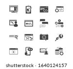 website icon set and logo...