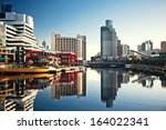 a view of the yarra river ... | Shutterstock . vector #164022341