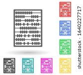 scores multi color style icon....