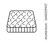 mattress bedding icon. simple...