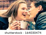 Young Couple Lovely Enjoying A...