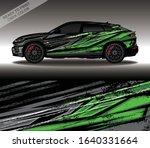 car wrap decal design vector ... | Shutterstock .eps vector #1640331664