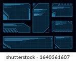 hud futuristic user interface....
