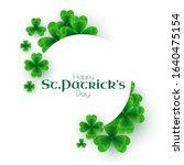 St\'patricks Day Background Wit...