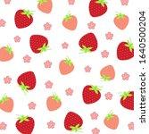 fruit pattern.cute fresh... | Shutterstock .eps vector #1640500204