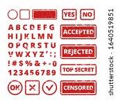 stamp concepts. vector grunge... | Shutterstock .eps vector #1640519851