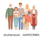 happy family. mother father... | Shutterstock .eps vector #1640519881