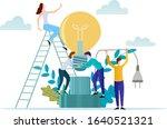 vector illustration.people... | Shutterstock .eps vector #1640521321