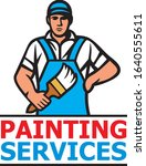painting services design   a...   Shutterstock .eps vector #1640555611