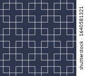simple seamless ornamental...   Shutterstock .eps vector #1640581321