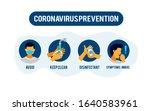 prevention information... | Shutterstock .eps vector #1640583961