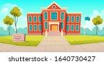 school building educational...   Shutterstock .eps vector #1640730427
