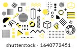 abstract and trendy modern... | Shutterstock .eps vector #1640772451