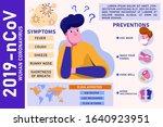 corona virus 2019 symptoms and... | Shutterstock .eps vector #1640923951