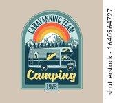 vintage logo  print apparel... | Shutterstock .eps vector #1640964727