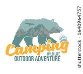 vintage logo style print design ... | Shutterstock .eps vector #1640964757