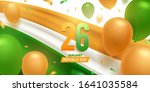 happy india republic day  26... | Shutterstock .eps vector #1641035584