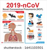 covid 19. novel coronavirus... | Shutterstock .eps vector #1641103501