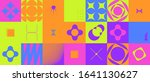 brutalism art inspired abstract ...   Shutterstock .eps vector #1641130627