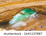 Benagil Cave In Portugal ...