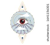 vector illustration of an all... | Shutterstock .eps vector #1641156301