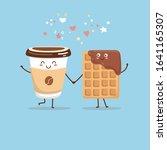 cute vector illustration of...   Shutterstock .eps vector #1641165307