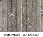 Vintage White Wood Wall With...