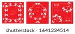 set of wedding cards or...   Shutterstock .eps vector #1641234514