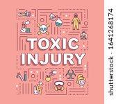 toxic injury  poisoning and...