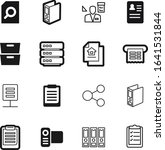 document vector icon set such...