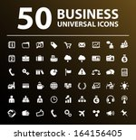 50 business icons. | Shutterstock .eps vector #164156405