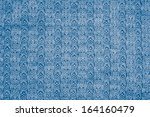 Blue Knitted Fabric As A...