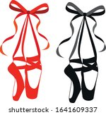 vector red and black pointe... | Shutterstock .eps vector #1641609337